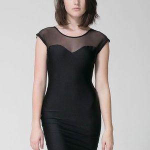 American Apparel mesh dress size xs/s